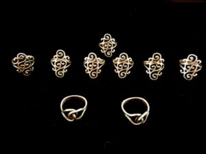Bob Murry Sterling Silver Rings